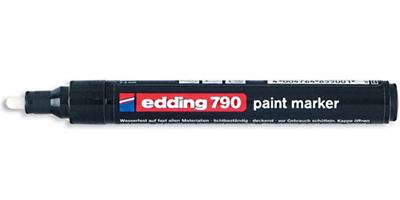 Edding 790 paint marker black черный