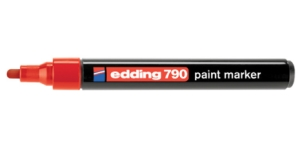 Edding 790 paint marker red красный