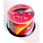 Диск CD-R VS, 700Mb 52x cakebox, 50 шт. в упак