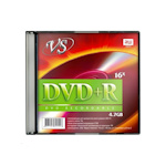 DVD+R VS 4,7 Gb 16x, 5 шт. упак