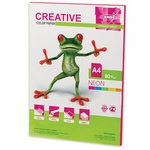 Бумага CREATIVE color БНpr-50м, А4, 80 г/м2, 50 л, неон, малиновая