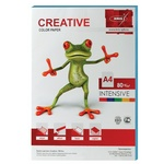 Бумага CREATIVE color БИpr-100г, А4, 80 г/м2, 100 л, интенсив, голубая