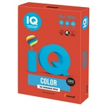 Бумага цветная IQ Color А4, 120 г/м2, 250 л. CO44 интенсив, кораллово-красная