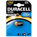 Литиевые батарейки Duracell CR123A/DLCR2 CR2 Ultra Photo, 3V, Bl1, 1 шт.