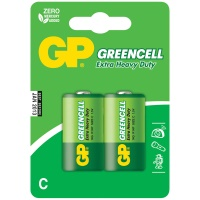 Батарейки GP Greencell C R14 14G BC2, 1,5V, 2 шт упак